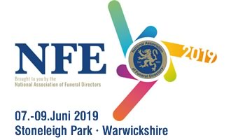 Logo National Funeral Exhibition 2019 Great Britain