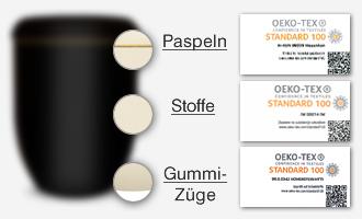 Zertifizierte Komponenten der Urnen Urncapes